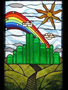 Emerald City - from Delphi Artist Gallery by Pam Bean's glasssmarts