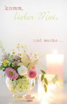 wiesenblumen mai-tischdekoration wunderschön-gemacht