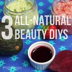 3 All-Natural Beauty DIYs The post 3 All-Natural Beauty DIYs appeared first on Diy Skin Care. Beauty Care, Diy Beauty, Beauty Skin, Health And Beauty, Beauty Hacks, Face Beauty, Natural Hair Mask, All Natural Skin Care, Organic Skin Care