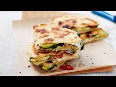 Courgette and Mozzarella Italian Piadina #Recipe from Waitrose