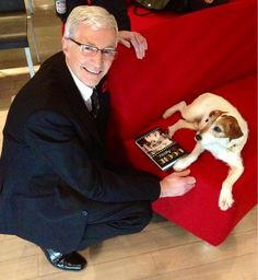 With Paul O'Grady in the Green Room! Battersea Dogs, Water For Elephants, Green Rooms, Dog Show, Jack Russell Terrier, Dog Cat, Fan, Stars, Pets