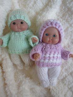 Doll Clothing Knit Pattern Berenguer Baby Doll Boy and by WeGirls