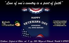 Love of ones country is a part of faith. #Loyalty #USA #VeteransDay