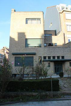 Maison Wolfers,1929 - Henry Van de Velde (60 avenue Alphonse Renard, Ixelles)