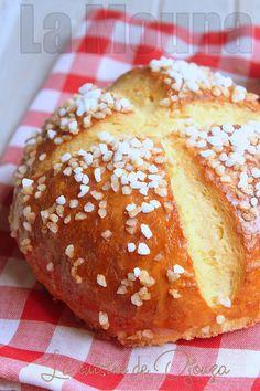 La mouna recette traditionnelle d'Algérie Croissants, Bread Recipes, Baking Recipes, Baguette, Algerian Recipes, Beignets, Yummy Cookies, Brunch, Food And Drink