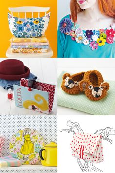 Mollie Makes 39 sewing crochet and knitting projects