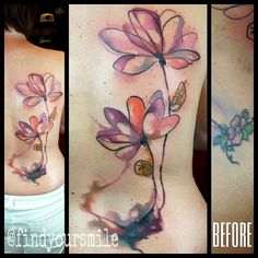 Floral coverup by Russell van Schaick