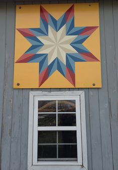 Barn Quilt for Sale! ORDER YOUR OWN AT : custombarnquilts@gmail.com Starting @ $25.00 for a 1 ft square!