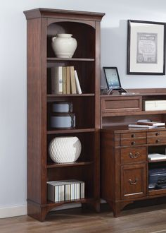 Jr Executive Bookcase | Liberty | Home Gallery Stores