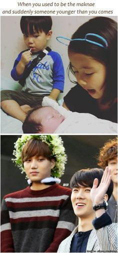 Aww Taeoh and Kai >w< | allkpop Meme Center