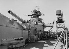 Deck of the Bismarck