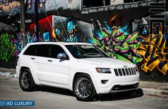 "Jeep Grand Cherokee with 22"" Monaco - X301 Matte Gunmetal"