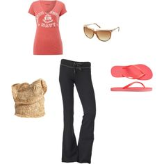 the perfect outfit for a lazy summer morning errand run. effortless but still cute and put together!