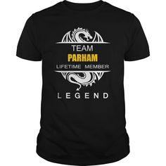 Team PARHAM Legend tee shirts https://www.sunfrog.com/Names/110897716-334962434.html?46568