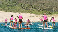 The Butterfly Effect sexy Taking Tarifa stand up paddle