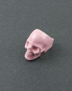 Pink Skull Ring.