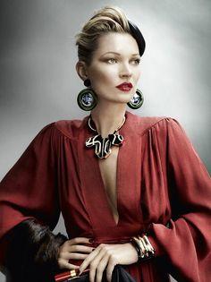 Kate Moss, British Vogue.
