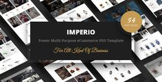 Download Imperio - Power Multi-Purpose eCommerce PSD Template Nulled