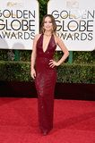 It's Almost Unreal How Flawless Olivia Wilde Looks in This Low-Cut Red Gown