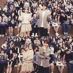 160923 Taeyeon - 'Samdasoo' Fansign Event at COEX Live Plaza (w/ Super Junior's Kyuhyun)