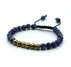 Micro String Natural Stone Bracelets - FREEZE - $27