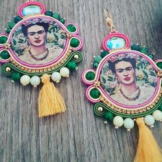 #soutache for Frida lovers ♡