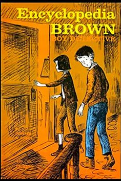 Encyclopedia Brown, Boy Detective by Donald J. Sobol - I read this book as a kid. I Love Books, Good Books, Books To Read, Big Books, Ed Vedder, Site Photo, Baby Boomer, Mystery Books, Mystery Series