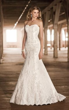 D1273 This elegant designer wedding dress is made of beautiful lace and  Luxe Taffeta and adorned f8d693b01cc6