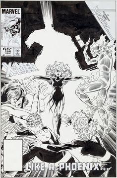 John Byrne and Terry Austin Fantastic Four #286 Cover - Original Art Cover (Marvel, 1985)