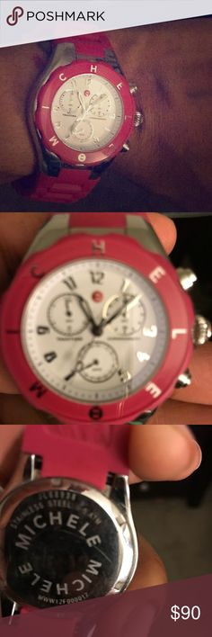 Michele Jelly Bean Watch Excellent condition. Barely used! Posted previously but sell didn't go through! Michele Accessories Watches
