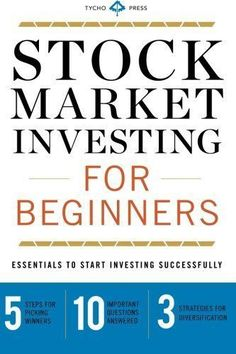 Stock Market Investing for Beginners: Essentials to Start Investing Successfully #stockmarketinvesting