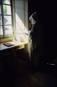 Carthusian Monk (Chartreuse de Portes  01470 Bénonces  FRANCE)
