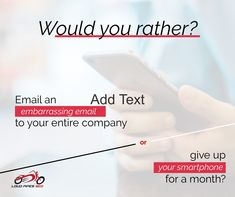 What would you rather do? What Would You Rather, Online Marketing Agency, Personal Care, Ads, Personal Hygiene