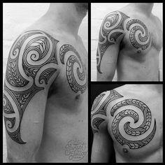 Tristan traditional Maori Tattoos #sunsettattoo