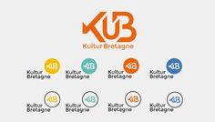 KuB Kulture Bretagne Identité visuelle Création de l'identité visuelle du webmédia de la créativité bretonne.