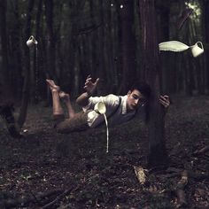 photography art portrait surreal conceptual Moritz Aust