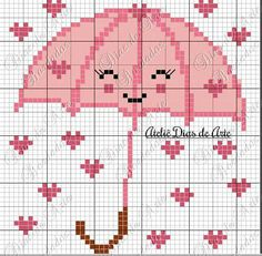 This Pin was discovered by Seb Just Cross Stitch, Cross Stitch Heart, Modern Cross Stitch Patterns, Cross Stitch Designs, Pixel Art Coeur, Cross Stitching, Cross Stitch Embroidery, Hand Embroidery Designs, Loom Patterns