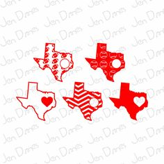 single states svg, chevron state svg, outlines states svg, states baseball files, football svg, Cricut Silhouette cut file svg cutting files - pinned by pin4etsy.com
