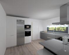 Madrid | Cocina Santos | Modelo Line | Encimera Silestone
