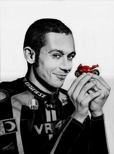 """Valentino Rossi"" by Grégory P."