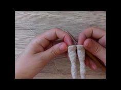 Feee amigurumi doll pattern Lira by author Katkarmela. Height 16 cm, on the wire frame, knit of cotton yarn. make hair doll, amigurumi doll hair tutorial How to knit crochet doll amigurumi Tess: body, part 2 Diy Crochet Doll, Crochet Doll Clothes, Crochet Doll Pattern, Knit Crochet, Crochet Hat For Women, Crochet Baby Hats, Crochet For Kids, Amigurumi Tutorial, Doll Tutorial