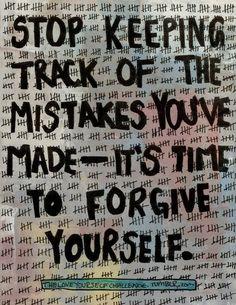Stop punishing yourself