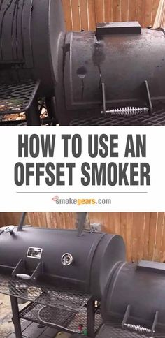 I am aware that many people do not know how to use a smoker. That's why we have come up with this article to show you how to use an offset smoker properly. Smoker Ribs, Diy Smoker, Barbecue Smoker, Bbq Grill, Homemade Smoker Plans, Best Bbq Smokers, Smoker Grill Recipes, Smoker Cooking, Grill With Smoker