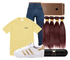 """Untitled #1008"" by kandykuahgoddess on Polyvore featuring Beats by Dr. Dre and adidas"