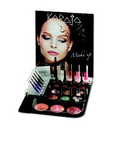 KARAJA Make Up. We use this in salon and retail.