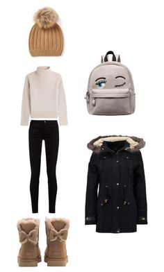 """Untitled #3"" by fatima-263 ❤ liked on Polyvore featuring UGG, Gucci, Vanessa Seward and even&odd"