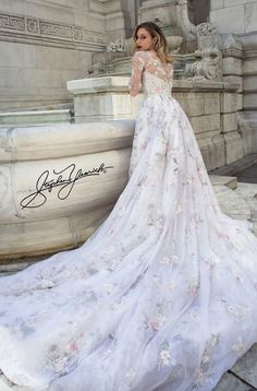 e0b6b4c2aaf Featured Dress  Stephen Yearick  Wedding dress idea. Wedding Dressses