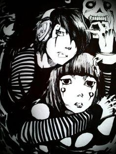 :) ♥ Eternal Love, Dark, Anime, Anime Shows, Darkness