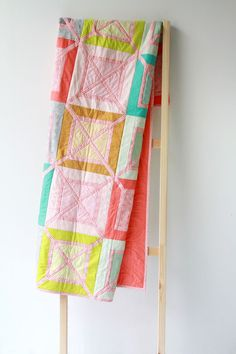 Free Quilt Pattern - Outside the Box featuring Squared Elements