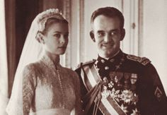 Grace and Rainier at their wedding day